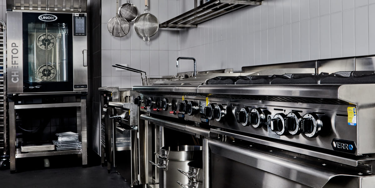 B+S Kitchen range