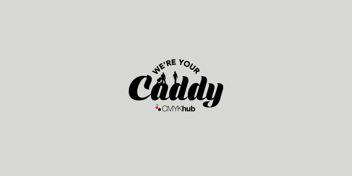CMYK Caddy Logo