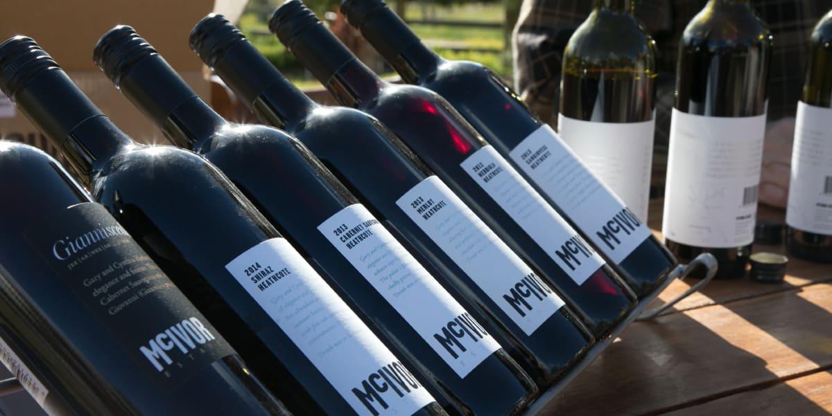 McIvor Estate wines