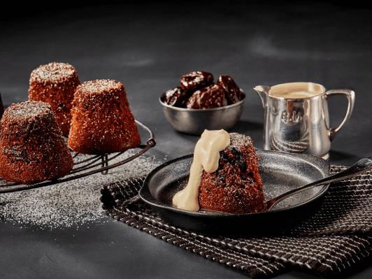 Food Innovations desert photo shoot