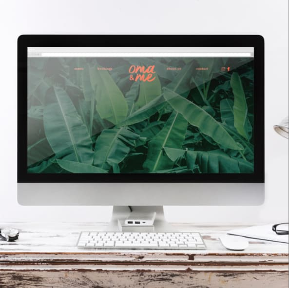 Oma & Me website preview