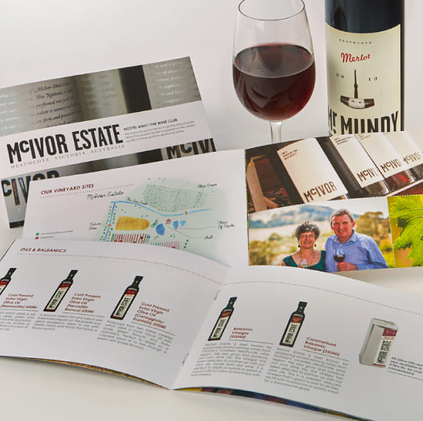 RW Marketing product development for McIvor Estate