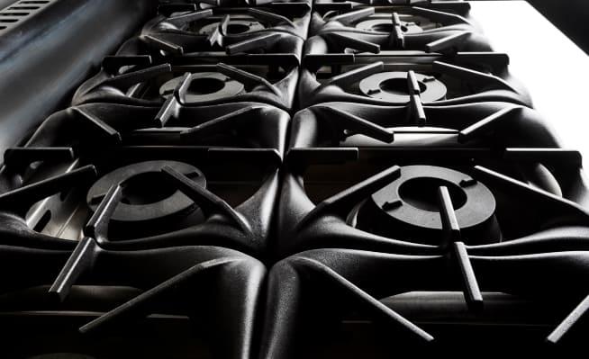 B+S Kitchens stovetop